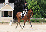 10 July 2009: Emma Fisher riding Carlingford's Forever during the dressage phase of the CIC 2* Maui Jim Horse Trials at Lamplight Equestrian Center in Wayne, Illinois.