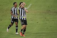 Rio de Janeiro (RJ), 25/04/2021 - BOTAFOGO-MACAÉ - Matheus Nascimento, do Botafogo, comemora gol. Partida entre Botafogo e Macaé, válida pela decima primeira rodada da Taça Guanabara, realizada no Estádio Nilton Santos (Engenhão), no Rio de Janeiro, neste domingo (25).