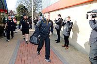 Photo: Richard Lane/Richard Lane Photography. Gloucester Rugby v Wasps. Aviva Premiership. 24/02/2018. Wasps' Jimmy Gopperth arrives.