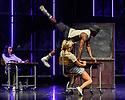 """London, UK. 11.09.2019. Cast members perform during the """"Fame the Musical"""" photocall at the Peacock Theatre, London, UK. Number shown is Dancing on the Sidewalk – Performed by Jamal Crawford and Ensemble of Fame. Photograph © Jane Hobson."""