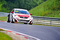 Race of Germany Nürburgring Nordschleife 2016 Free training 2 ETCC 2016 138 Sebastien Loeb Racing Peugeot 308 Racing Cup. David Pouget (FRA). © 2016 Musson/PSP. All Rights Reserved.