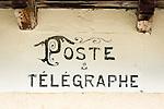 Switzerland, Canton Valais, Evolène - district Arolla: the old Post and Telegraph bureau | Schweiz, Kanton Wallis, Evolène - Ortsteil Arolla: das alte Post- und Telegraphenamt