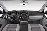 Stock photo of straight dashboard view of a 2014 Volkswagen CALIFORNIA COMFORTLINE EDITION BLUEMOTION 4 Door Minivan Dashboard