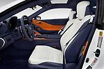 Front seat view of 2018 Lexus LC 500 4 Door Sedan front seat car photos