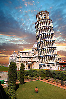 The Leaning Tower Of Pisa, Italy