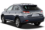 Rear three quarter view of a 2013 Lexus RX 450H