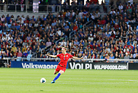 Saint Paul, MN - Tuesday September 03, 2019 : Becky Sauerbrunn #4 during a 2019 Victory Tour match between Portugal and the United States at Allianz Field, on September 03, 2019 in Saint Paul, Minnesota.