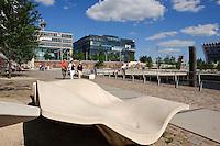 Grasbrookhafen  in der Hafencity,  Hamburg,  Deutschland