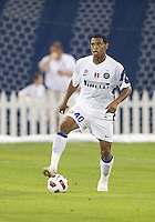 August 03 2010 Inter Milan FC player Obiora Nwankwo No.40 in action during an international friendly between Inter Milan FC and Panathinaikos FC at the Rogers Centre in Toronto..Final score was 3-2 for Panathinaikos FC.