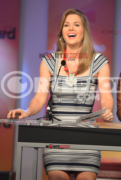 MIAMI, FL - FEBRUARY 05: Sonya Smith at the Telemundo and Premios Billboard 2013 Press Conference at Gibson Miami Showroom on February 5, 2013 in Miami, Florida. © MPI10/MediaPunch Inc /NortePhoto