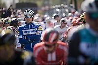 Florian SÉNÉCHAL (FRA/Deceuninck-Quick Step) at the race start in Terneuzen (NED)<br /> <br /> 107th Scheldeprijs (1.HC)<br /> One day race from Terneuzen (NED) to Schoten (BEL): 202km<br /> <br /> ©kramon