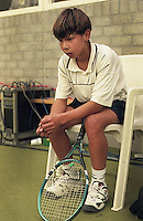 Netherlands, November 1997, NIKE junior tour, Rafael Nadal (ESP)<br /> Photo: Henk Koster