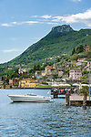 Italy, Lombardy, Lake Garda, Gargnano on the western shore of Lake Garda, the Riviera Bresciana   Italien, Lombardei, Gardasee, Gargnano am Westufer des Gardasees, der Riviera Bresciana