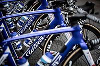 Team Total Direct Energie Bikes race ready. <br /> <br /> Baloise Belgium Tour 2019<br /> Stage 4: Seraing – Seraing 151.1km<br /> ©kramon
