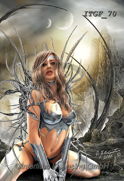 Gaetano, MODERN, MODERNO, paintings+++++ A New Dawn,ITGF70,#n#, EVERYDAY ,fantasy,puzzles,gothic,pin-up,pin-ups