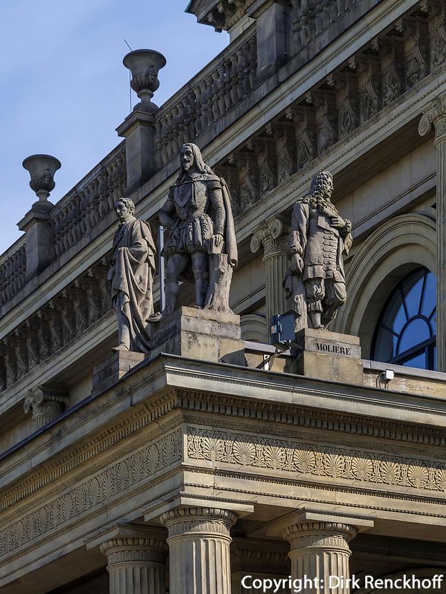 Detail, Opernhaus in Hannover, Niedersachsen, Deutschland, Europa<br /> detail, Opera House in Hanover, Lower Saxony, Germany, Europe