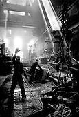 Volgograd, Russia.1992.A post-communist steel factory.