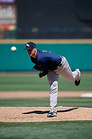 Scranton/Wilkes-Barre RailRiders relief pitcher Tyler Webb (38) during a game against the Rochester Red Wings on June 7, 2017 at Frontier Field in Rochester, New York.  Scranton defeated Rochester 5-1.  (Mike Janes/Four Seam Images)