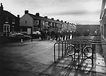 Queing for tickets outside the East Stand at Ayresome Park, 27th December 1994.