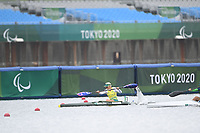 Amanda Jennings / Final<br />Sea Forest Waterway <br />2020 Tokyo Paralympic Games<br />Paralympics Australia / Day 11<br />Tokyo Japan :  Saturday 4 September 2021<br />© Sportshoot / Delly Carr / PA