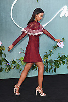 """Maya Jama<br /> arriving for the """"Mother!"""" premiere at the Odeon Leicester Square, London<br /> <br /> <br /> ©Ash Knotek  D3305  06/09/2017"""