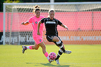 Gemma Davison (16) of the Western New York Flash. The Western New York Flash defeated Sky Blue FC 2-0 during a Women's Professional Soccer (WPS) match at Yurcak Field in Piscataway, NJ, on July 17, 2011.