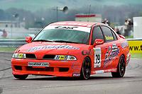 2001 British Touring Car Championship. #79 Toni Ruokonen. Team CAM. Mitsubishi Carisma.