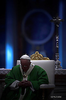 Pope Francis Holy Mass the Jubilee  the Homeless in St. Peter's Basilica  Vatican November 13, 2016