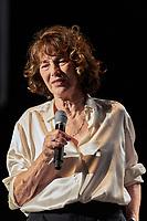 L'Estival, Jane Birkin, Gainsbourg symphonique, St-Germain-en-Laye, jeudi 05 octobre 2017.<br /> Pascal THIEBAUT_ DALLE
