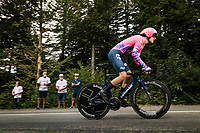 Tejay Van Garderen (USA/EF) on the steep parts of the individual time trial up the infamous Planche des Belles Filles<br /> <br /> Stage 20 (ITT) from Lure to La Planche des Belles Filles (36.2km)<br /> <br /> 107th Tour de France 2020 (2.UWT)<br /> (the 'postponed edition' held in september)<br /> <br /> ©kramon