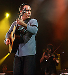 Dave Matthews rocks during concert at the Staples Center, Wednesday night in Los Angeles.