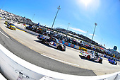 Myatt Snider, ThorSport Racing, Ford F-150 Liberty Tax and Todd Gilliland, Kyle Busch Motorsports, Toyota Tundra Mobil 1