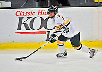21 February 2009: University of Vermont Catamounts' defenseman Kailey Nash, a Freshman from Middletown, RI, in action against the University of Maine Black Bears at Gutterson Fieldhouse in Burlington, Vermont. The Catamounts shut out the Black Bears 1-0. Mandatory Photo Credit: Ed Wolfstein Photo