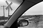Railroad Crossing, Santo, Texas 1999 1990s USA