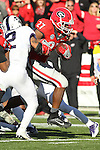 December 30, 2016: Georgia Bulldog running back Nick Chubb (27) in the second half of the AutoZone Liberty Bowl at Liberty Bowl Memorial Stadium in Memphis, Tennessee. ©Justin Manning/Eclipse Sportswire/Cal Sport Media