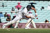 10th January 2021; Sydney Cricket Ground, Sydney, New South Wales, Australia; International Test Cricket, Third Test Day Four, Australia versus India; Rohit Sharma of India plays a shot