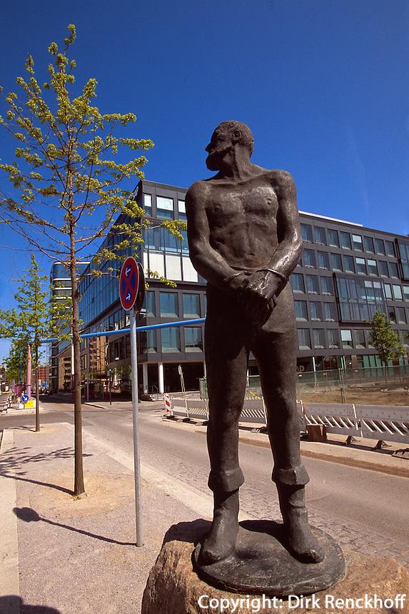 Deutschland, Hamburg, Hafencity Störtebeker-Denkmal