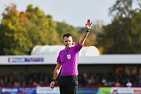 Referee Tom Nield during Crawley Town vs Sutton United, Sky Bet EFL League 2 Football at The People's Pension Stadium on 16th October 2021