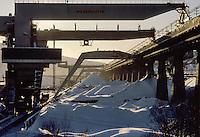 - Norway, mining plants near Narvik town..- Norvegia, impianti minerari presso la città di Narvik