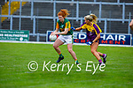 Action from Kerry V Wexford in the Lidl LGFA National football league game in Fitzgerald Stadium Killarney on Sunday.