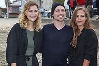 MARGOT LUCIARTE, JOFFREY VERBRUGGEN, LEA ARNEZEDER - 19EME FESTIVAL DE LA FICTION TV A LA ROCHELLE, FRANCE, LE 13/09/2017.