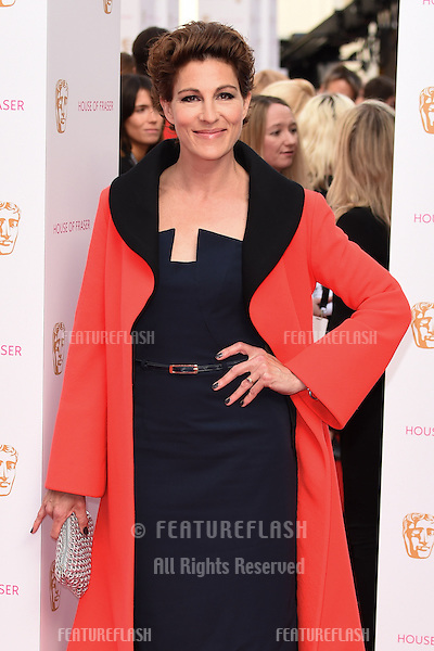 Tamsin Grieg<br /> arrives for the 2015 BAFTA TV Awards at the Theatre Royal, Drury Lane, London. 10/05/2015 Picture by: Steve Vas / Featureflash