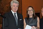 MARCO ROSI CON BARBARA PALOMBELLI<br /> PREMIO GUIDO CARLI - TERZA  EDIZIONE<br /> PALAZZO DI MONTECITORIO - SALA DELLA LUPA<br /> CON RICEVIMENTO  HOTEL MAJESTIC   ROMA 2012