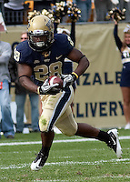 Pitt running back Dion Lewis. The Pitt Panthers defeated the Louisville Cardinals 20-3 at Heinz Field, Pittsburgh Pennsylvania on October 30, 2010.
