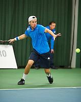 Januari 24, 2015, Rotterdam, ABNAMRO, Supermatch, Vincent van der Honert <br /> Photo: Tennisimages/Henk Koster