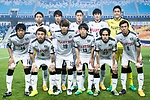 Kawasaki Frontale squad pose for team photo during the AFC Champions League 2017 Group G match between Suwon Samsung Bluewings (KOR) vs Kawasaki Frontale (JPN) at the Suwon World Cup Stadium on 25 April 2017, in Suwon, South Korea. Photo by Yu Chun Christopher Wong / Power Sport Images