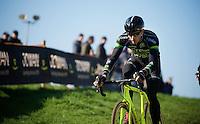 Sven Nys (BEL/Crelan-AAdrinks) during the course recon<br /> <br /> Elite Men's race<br /> bpost bank trofee<br /> GP Mario De Clercq Ronse 2015