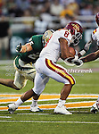Iowa State Cyclones running back James White (8) in action during the game between the Iowa State Cyclones and the Baylor Bears at the Floyd Casey Stadium in Waco, Texas. Baylor defeats Iowa State 49 to 26.