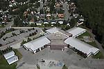 Muldoon Elementary School, Anchorage, Alaska. Aerial photograph (2011).
