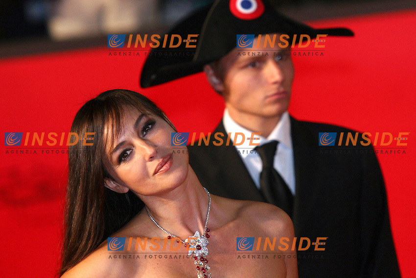 Actress Monica Bellucci arrives at the Auditorium in Rome for the premiere of her new movie 'N - Io e Napoleone' during the first Rome International Film Festival. October, 13, 2006.<br /> L'atrice Monica Bellucci arriva all'auditorium di Roma per il Festival internazionale del Cinema. <br /> Foto Samantha Zucchi INSIDE (www.insidefoto.com)